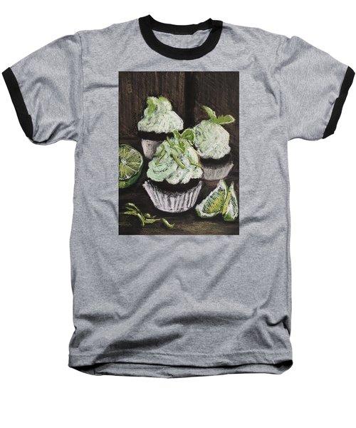 Margarita Cupcakes Baseball T-Shirt