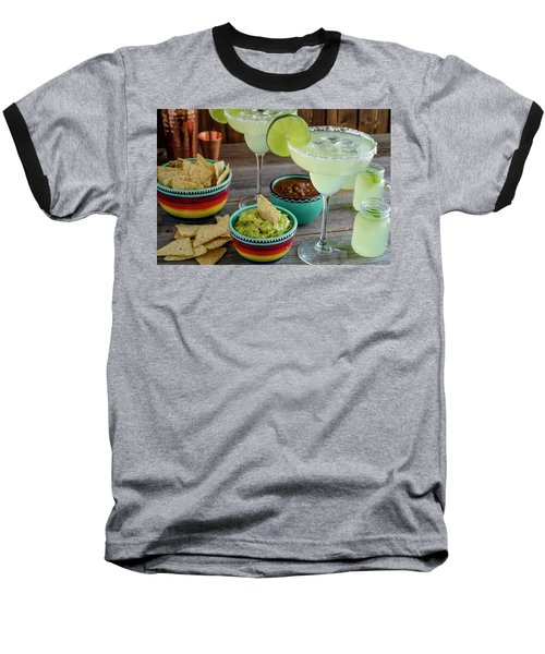 Baseball T-Shirt featuring the photograph Margarita Party by Teri Virbickis