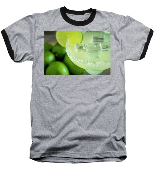 Baseball T-Shirt featuring the photograph Margaritas Anyone by Teri Virbickis