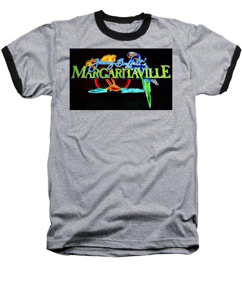 Margaritaville Neon Baseball T-Shirt