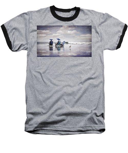 Margate Beach Relaxation Baseball T-Shirt