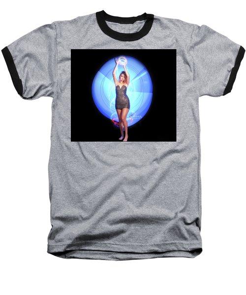 Maria Bringing Magic To The Night. Baseball T-Shirt