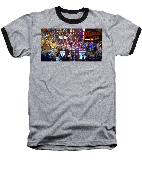 Mariachi Bar In San Antonio Baseball T-Shirt