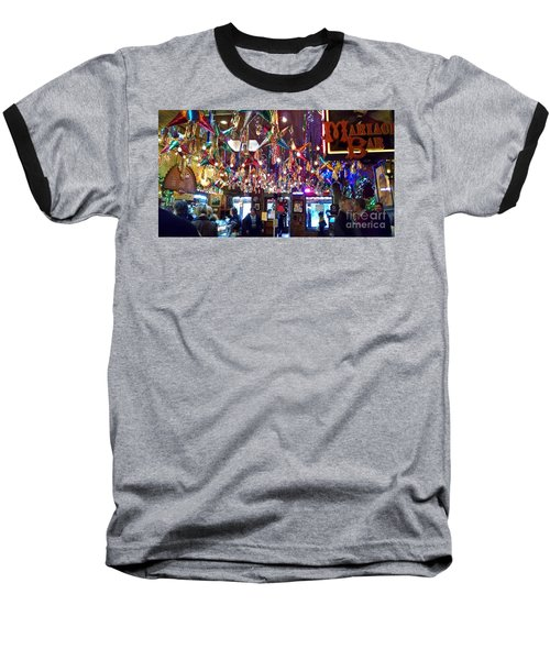 Mariachi Bar In San Antonio Baseball T-Shirt