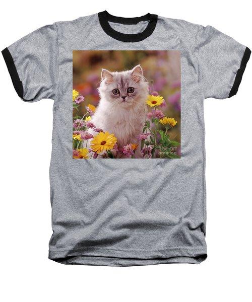 Marigold Chinchilla Baseball T-Shirt