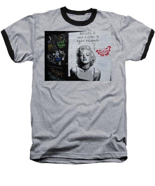 Marilyn Bagels In London   Baseball T-Shirt