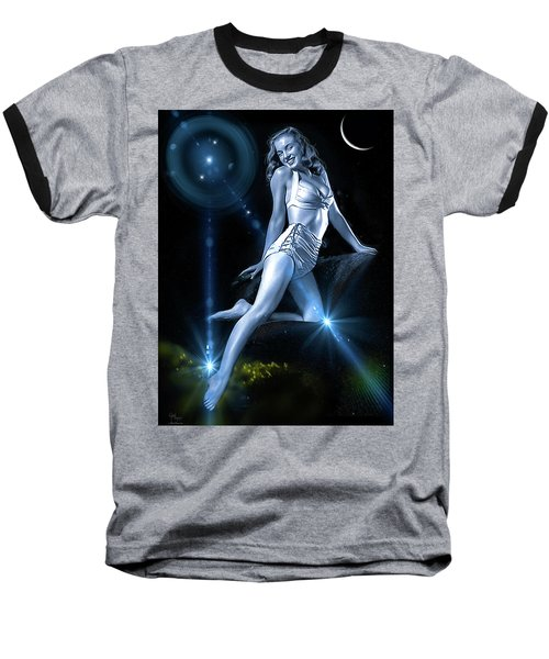 Marilyn Monroe - A Star Was Born Baseball T-Shirt