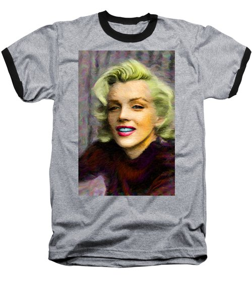 Marilyn Monroe Baseball T-Shirt