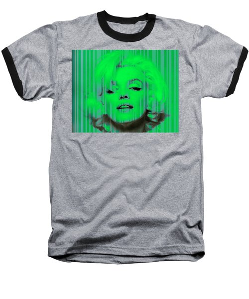 Marilyn Monroe In Green Baseball T-Shirt