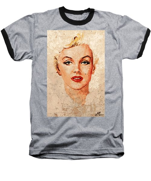 Marilyn Seductive Mix Baseball T-Shirt