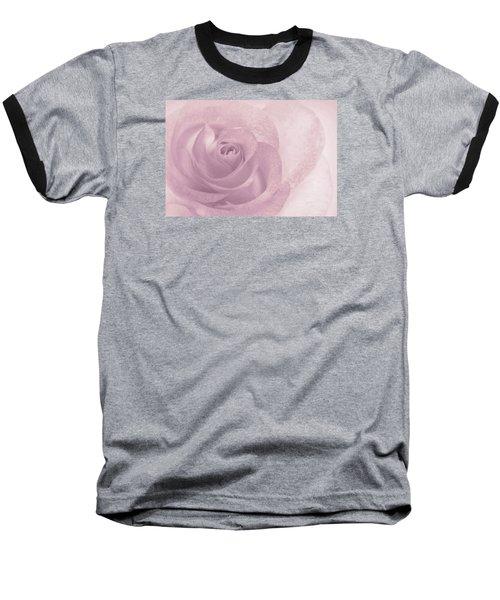 Marilyn's Dream Rose Baseball T-Shirt by The Art Of Marilyn Ridoutt-Greene