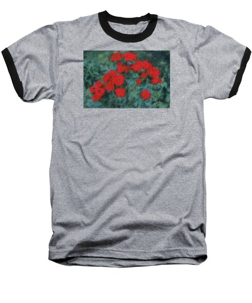 Marilyn's Red Roses Baseball T-Shirt