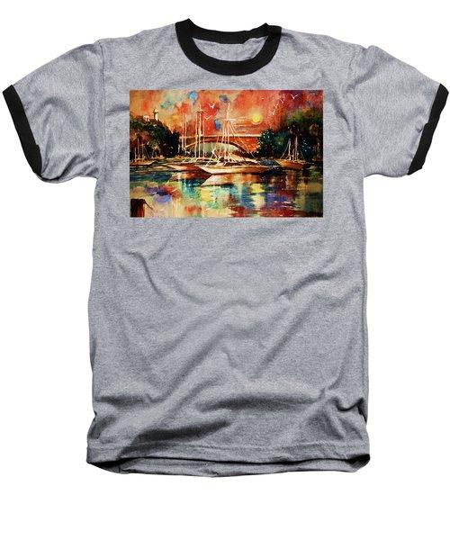 Marina Baseball T-Shirt by Al Brown