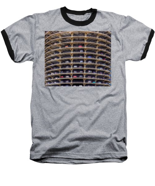 Marina City Chicago Baseball T-Shirt