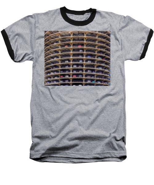 Marina City Chicago Baseball T-Shirt