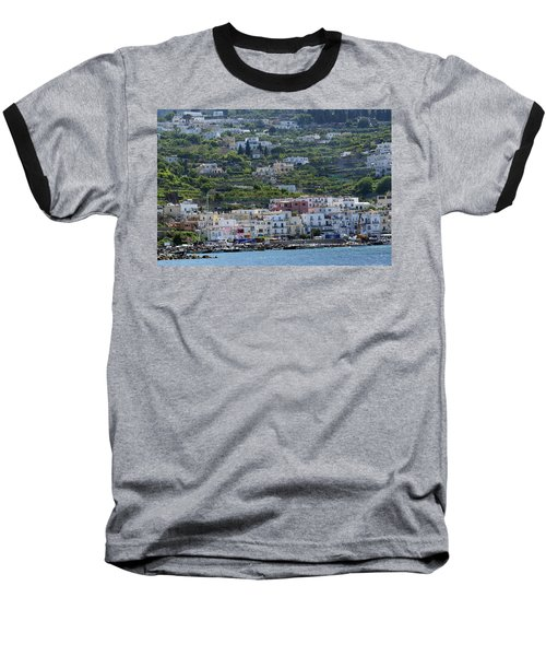 Marina Grande, Isle Of Capri Baseball T-Shirt