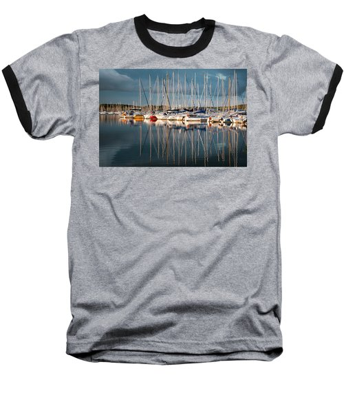 Marina Sunset 7 Baseball T-Shirt
