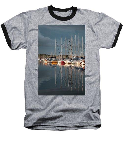 Marina Sunset 8 Baseball T-Shirt