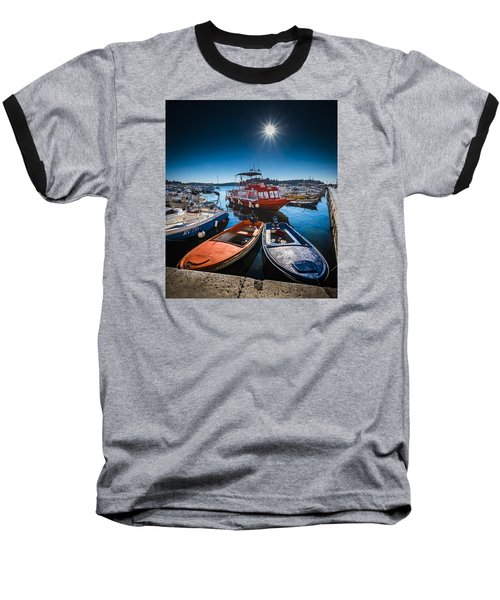Marina Under The Sun Baseball T-Shirt
