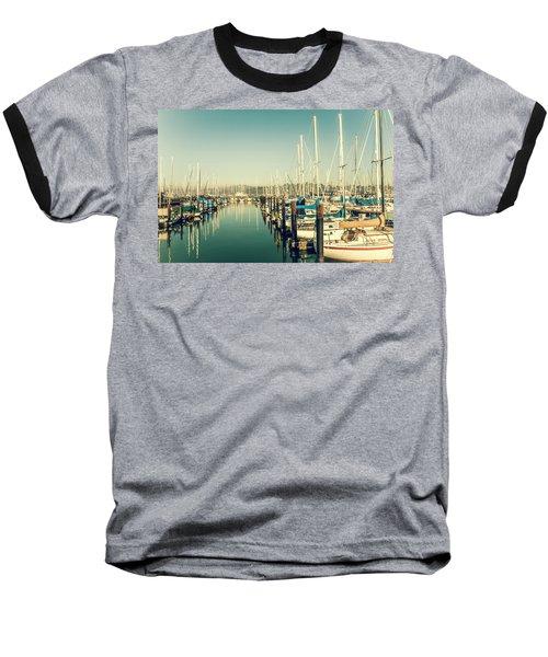 Marinaside Sausalito California Baseball T-Shirt