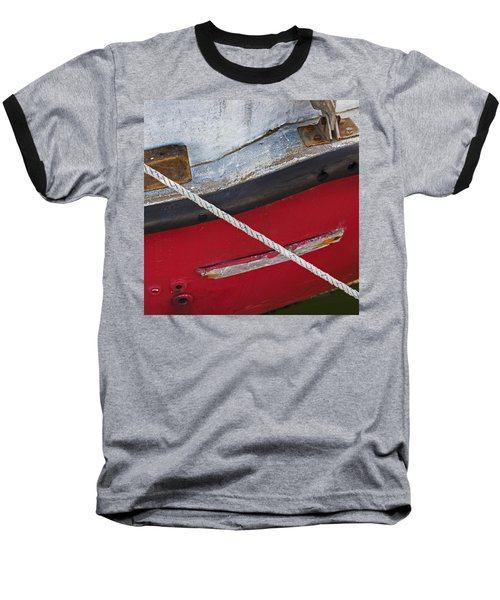 Baseball T-Shirt featuring the photograph Marine Abstract by Charles Harden
