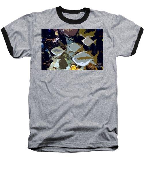 Marine Life Baseball T-Shirt by David Lee Thompson