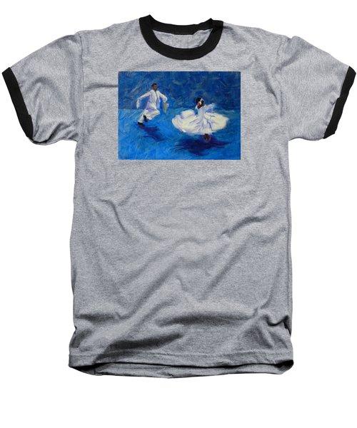 Marinera Nortenia Blue Baseball T-Shirt