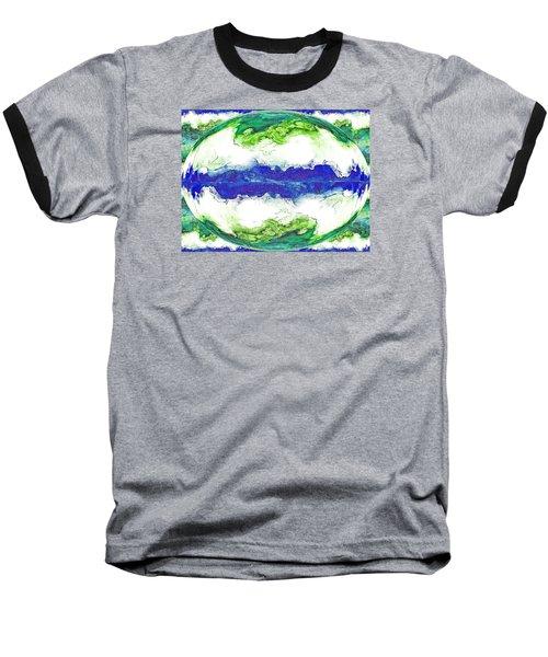 Mariner's Dream Baseball T-Shirt by Joan Hartenstein