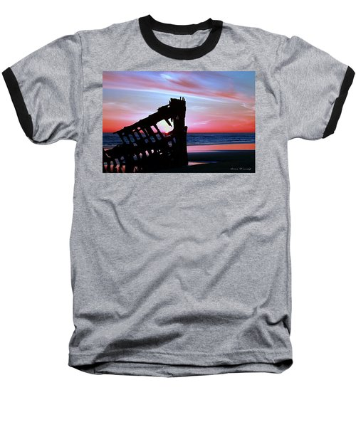 Mariners Sky 20 Baseball T-Shirt by Steve Warnstaff