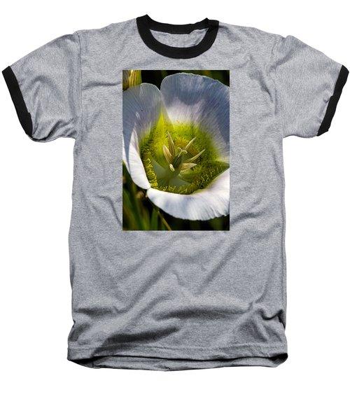 Mariposa Lily Baseball T-Shirt by Alana Thrower