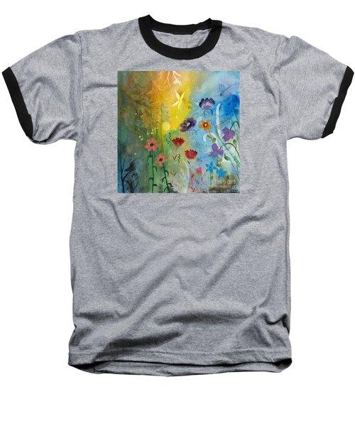 Mariposa Baseball T-Shirt by Robin Maria Pedrero