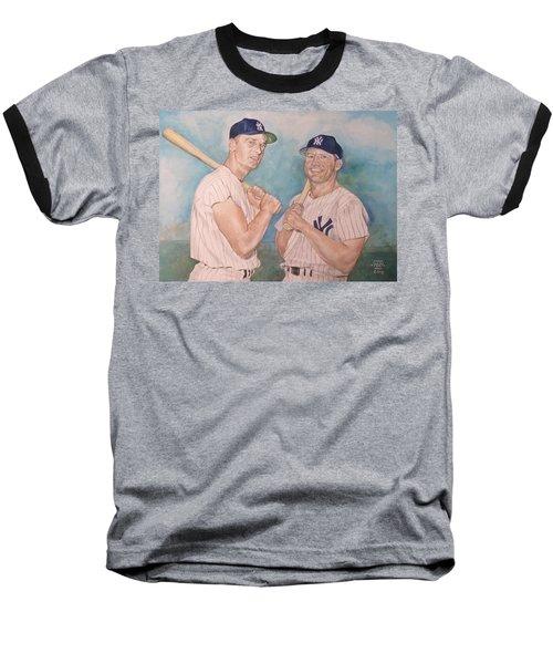 Maris And Mantle Baseball T-Shirt by Nigel Wynter