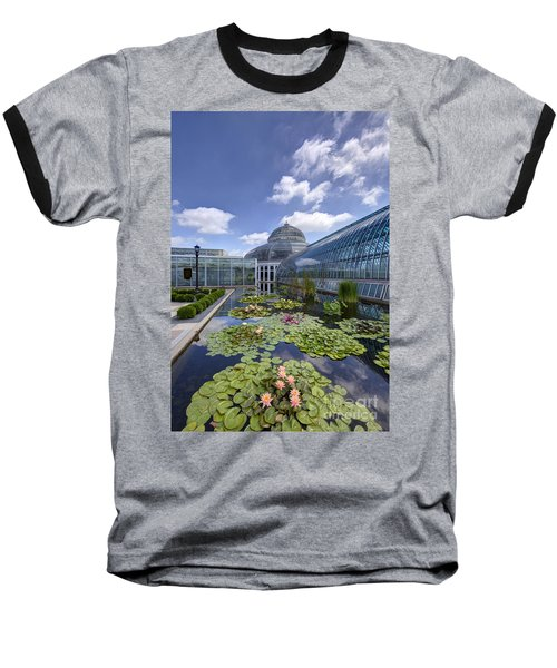 Marjorie Mcneely Conservatory At Como Park And Zoo Baseball T-Shirt