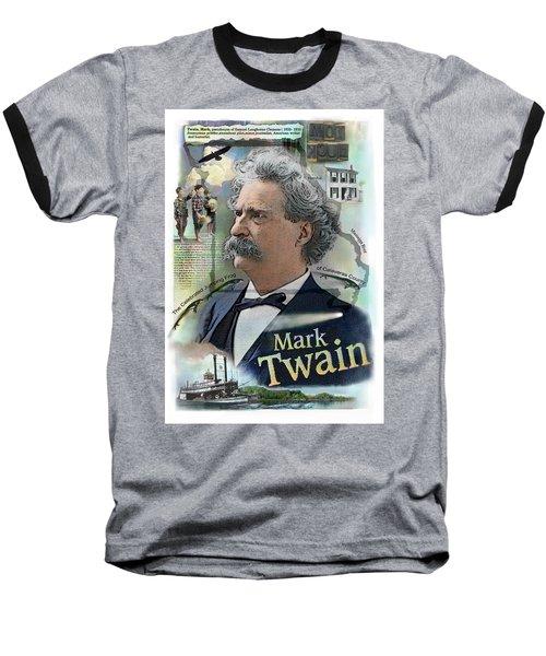 Mark Twain Baseball T-Shirt