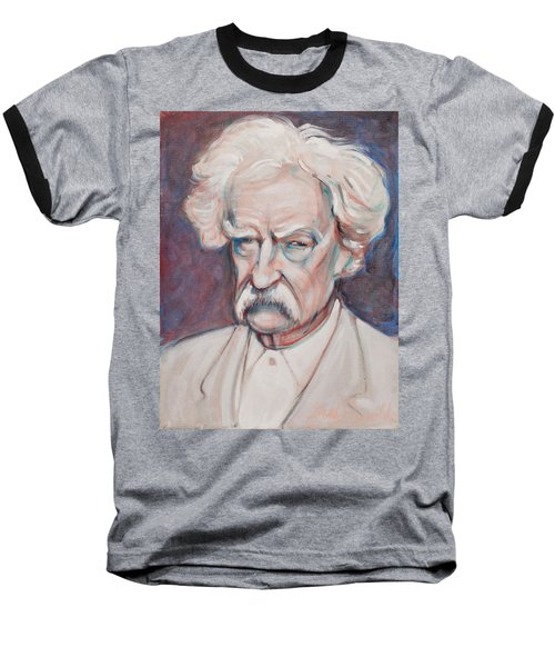 Mark Twain Baseball T-Shirt