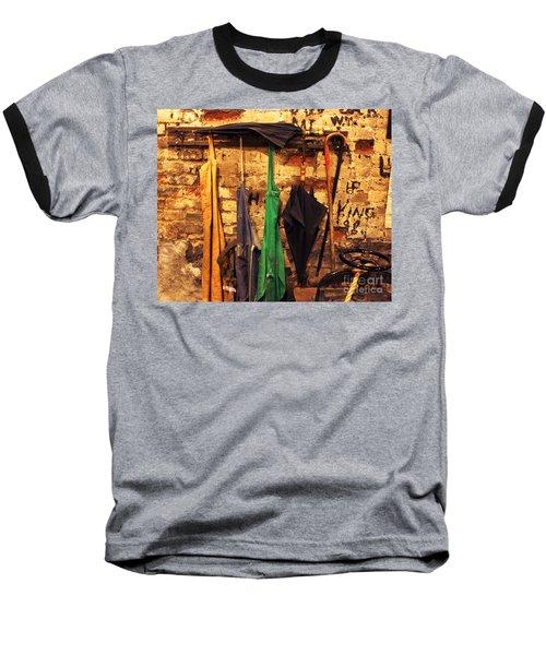 Mark Twain's Coat Rack Baseball T-Shirt