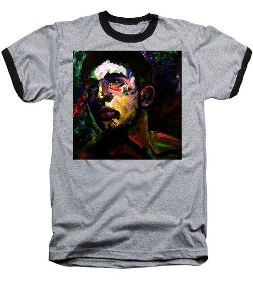 Mark Webster Artist - Dave C. 0410 Baseball T-Shirt by Mark Webster Artist