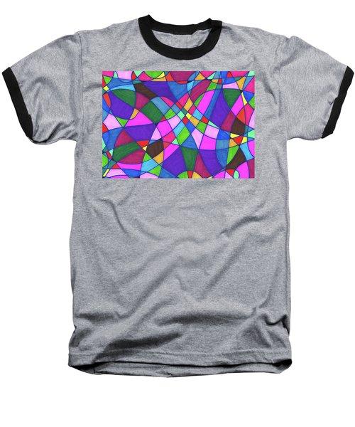 Marker Mosaic Baseball T-Shirt