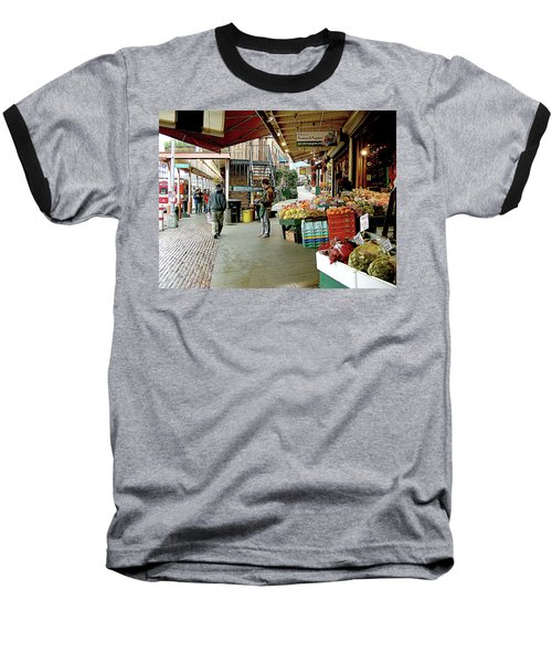 Market Alley Wares Baseball T-Shirt