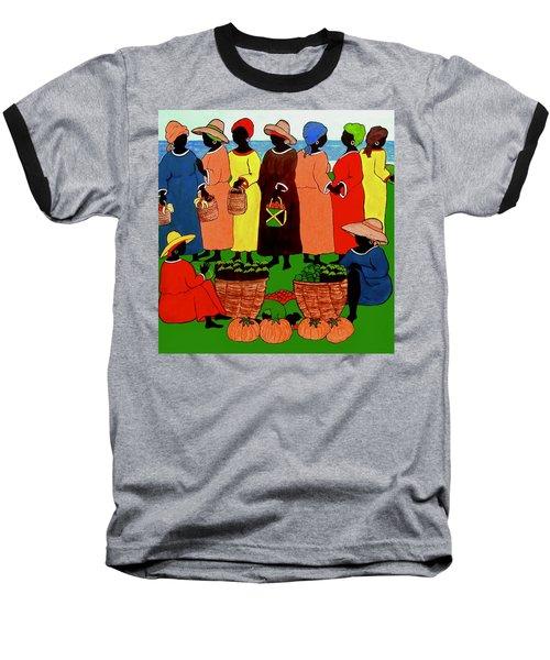 Market Day Baseball T-Shirt