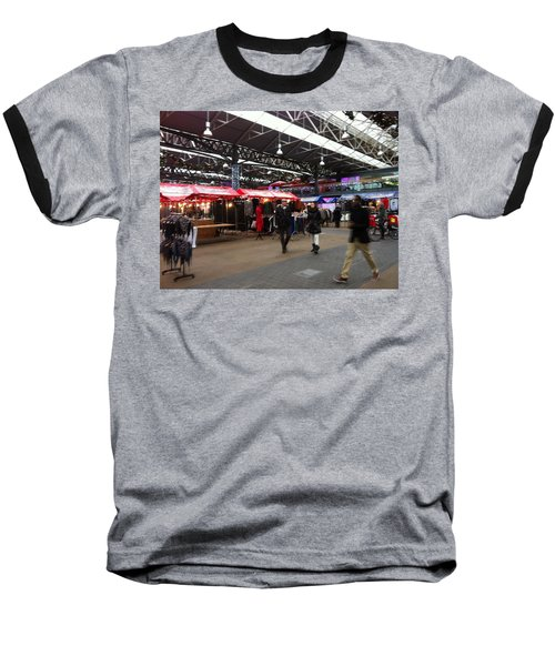 Baseball T-Shirt featuring the photograph Market Movement by Christin Brodie