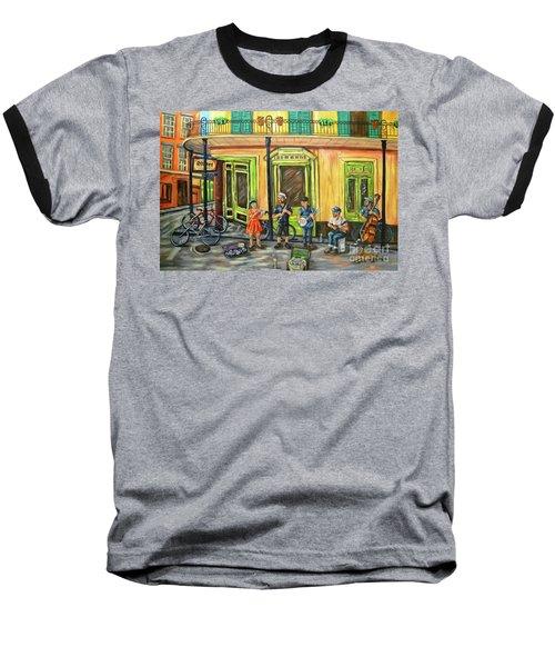 Market Musicians Baseball T-Shirt