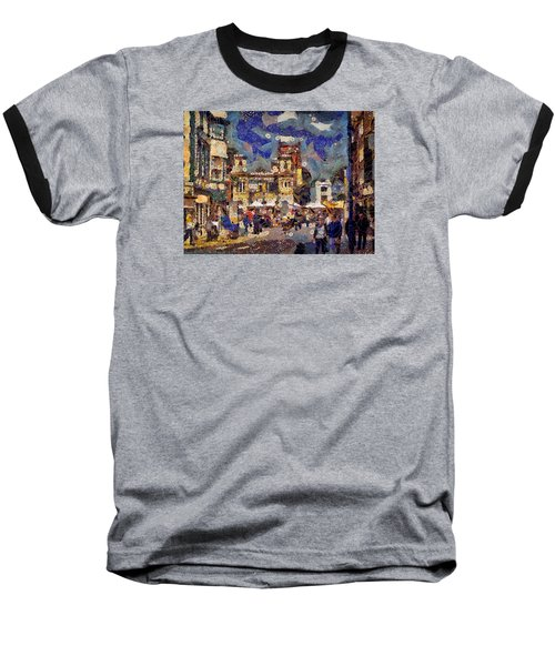Market Square Monday Baseball T-Shirt