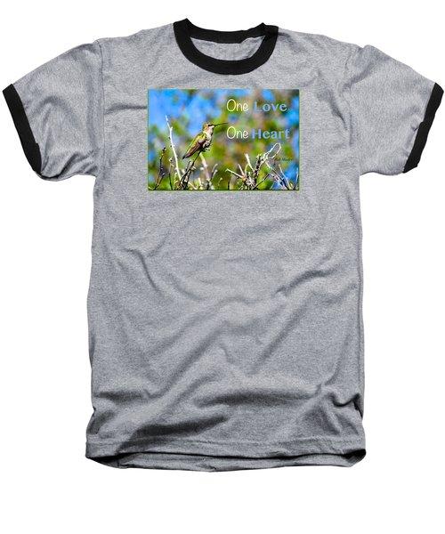 Marley Love  Baseball T-Shirt by David Norman