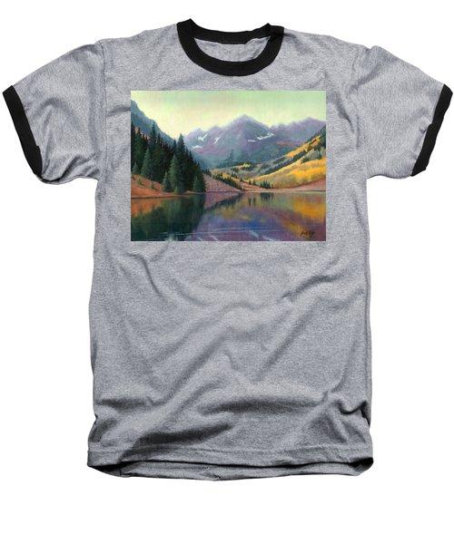 Maroon Bells In October Baseball T-Shirt