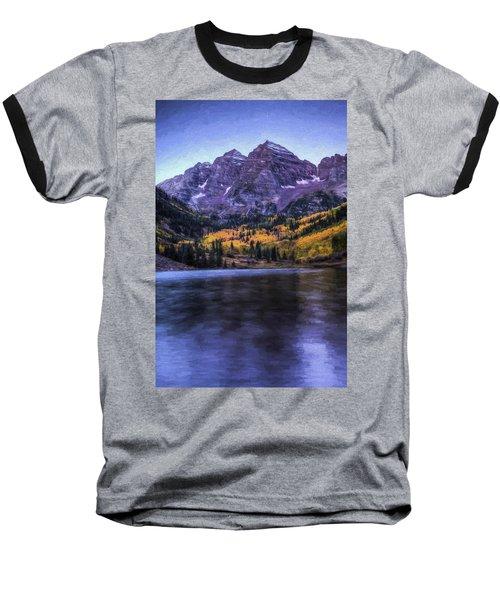 Maroon Bells Baseball T-Shirt