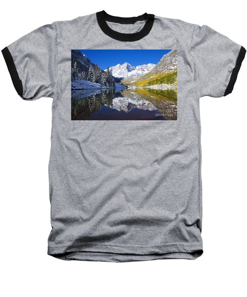 Maroon Lake And Bells 1 Baseball T-Shirt