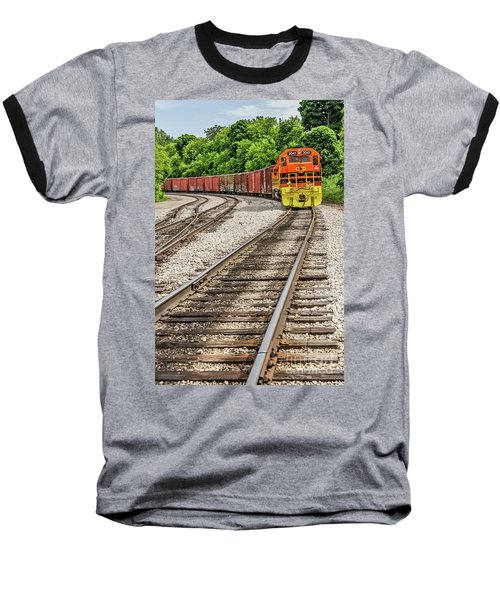 Marquette Rail Carrier Baseball T-Shirt