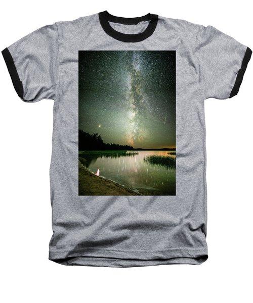Mars Over Sabao Baseball T-Shirt