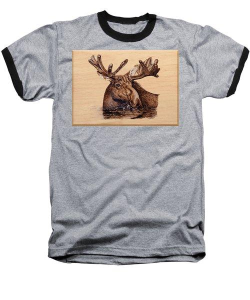Marsh Moose Baseball T-Shirt